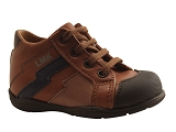 LITTLE MARY KID SHOE FREDDY<br>cognac