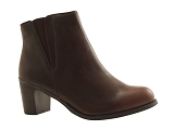 101 BOOT TDF2725:COGNAC/MULTI DOM. AUTRE MATERIAU/BOTTY SELECTION Femmes