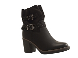 PHK8111 BOOT PI3444:NOIR/MULTI DOM. AUTRE MATERIAU/BOTTY SELECTION Femmes