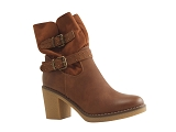 3761105 BOOT PI3444:CAMEL/MULTI DOM. AUTRE MATERIAU/BOTTY SELECTION Femmes