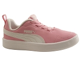 SLIPPERS DARK COURTFLEX:ROSE/AUTRES MATERIAUX/PUMA Kids