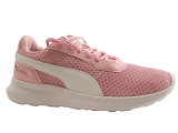 LELISE ST ACTIVATE JR:ROSE/GRILLE TISSU/PUMA Adultes