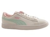 HOLLYWOOD 04 PUMA SMASH V 2 JR:AQUA/MULTI DOM. CUIR/PUMA Adultes