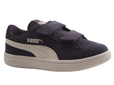 SCOTTY PUMA SMASH V2 SD:BLEU PEACOAT/DESSUS CUIR/PUMA Kids