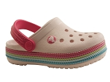 PBX34035 CROCBAND SEQUIN BAND:ROSE/AUTRES MATERIAUX/CROCS