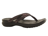 CROCS EUROPE BV CAPRI STRAPPY<br>noir