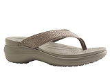 CROCS EUROPE BV CAPRI METALLICT<br>silver