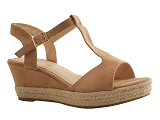 SID SANDAL SAL816:BRUN/MULTI DOM. TOILE/BOTTY SELECTION Femmes