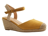J XUNDAY BL SANDAL 621:JAUNE/MULTI DOM. TOILE/BOTTY SELECTION Femmes