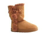 BOOT S5566 DIAM BOTTE577 16 DIAM:CAMEL/VELOURS TISSU/BOTTY SELECTION Femmes