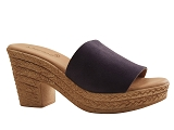 SAND 924 MULE488:BLEU MARINE/VELOURS NUBUCK/BOTTY SELECTION Femmes