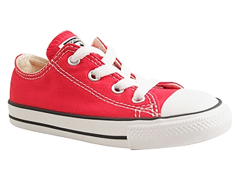 Converse kids ctas core ox rouge