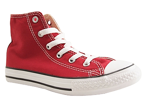 Converse kids ctas core hi rouge