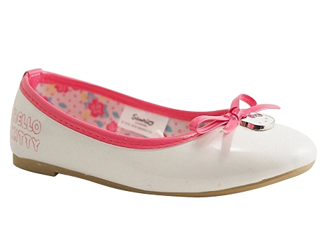 Botty selection kids ballerine1227 blanc