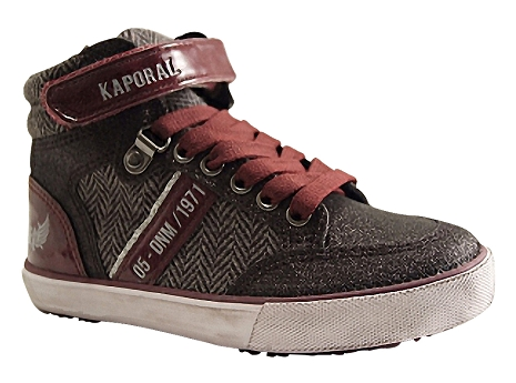 Kaporal shoes mounty noir