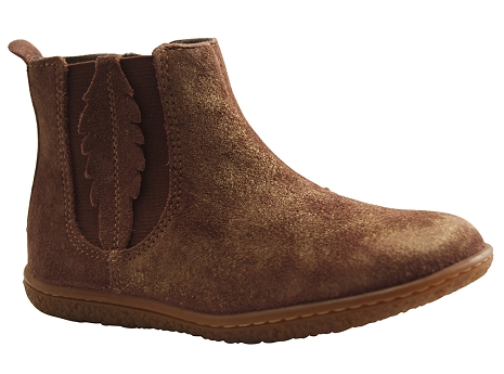 Kickers vinciane marron