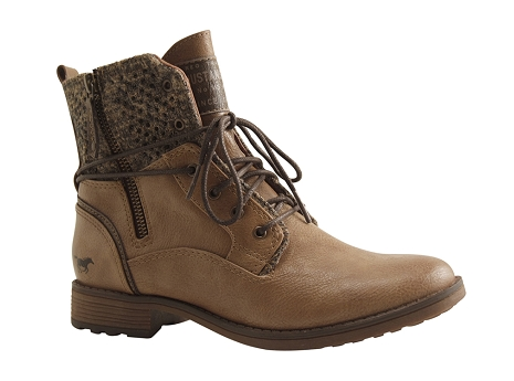 0cff815c52d6a Mustang shoes 1265 504 taupe
