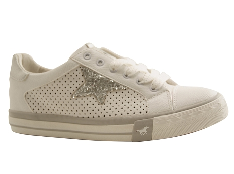 Mustang shoes 1146 309 blanc