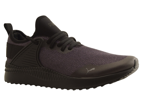 Puma adultes pacer next cage knit noir