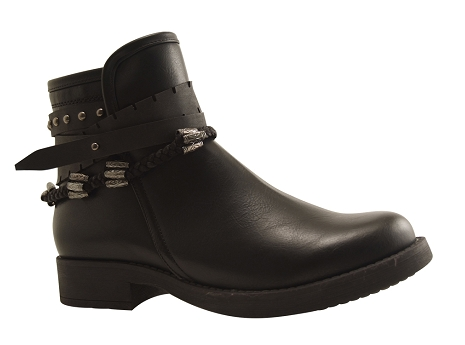 Botty selection femmes boot rw 3419 noir