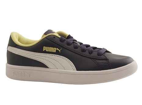 Puma adultes puma smash v 2 jr bleu peacoat