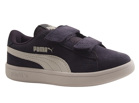 Puma kids puma smash v2 sd bleu peacoat
