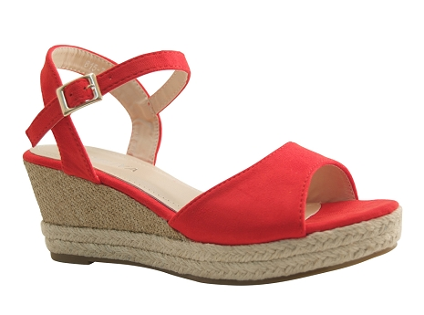 Botty selection femmes sandal 815 rouge