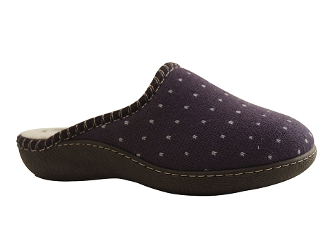 Botty selection femmes mule 1810 bleu marine